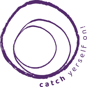 Image of Catch Yerself On logo by Indigo Life Coaching